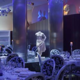 Salle à manger Restaurant Louis XV