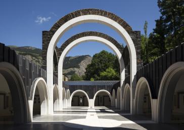 Santuário Meritxell Ricardo Bofill Andorra
