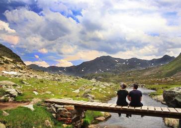 Lakes Tristaina Andorra
