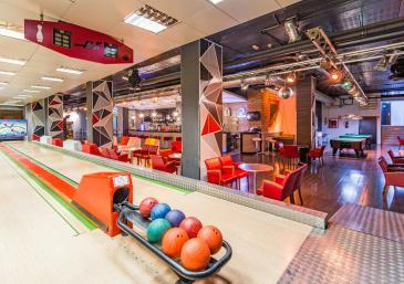 Bowling bar Hotel Spa Diana Parc