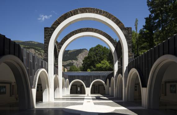 святилище Meritxell Ricardo Bofill Andorra