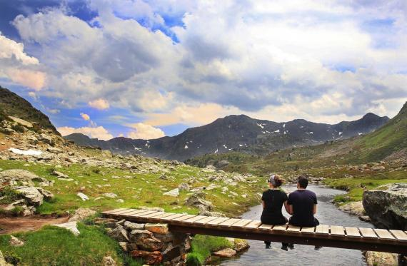 озера Tristaina Andorra