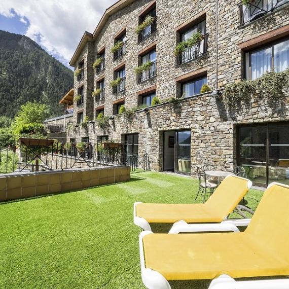 Terrace Suite Hotel Spa Diana Parc